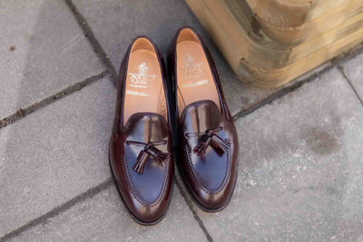 Crockett & Jones Cavendish in Burgundy Color 8 Shell Cordovan for The Noble Shoe Overview