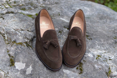Crockett & Jones Cavendish in Dark Brown Suede for The Noble Shoe 3