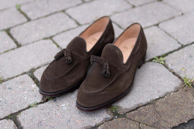 Crockett & Jones Cavendish in Dark Brown Suede for The Noble Shoe 6