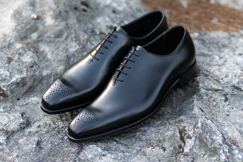 Crockett & Jones Handgrade Weymouth 2 Wholecut in Black Calf for The Noble Shoe 5