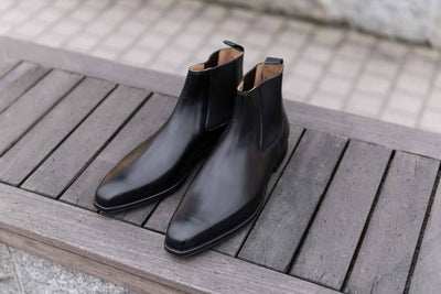 Crockett & Jones Lingfield Chelsea Boots in Black Calf for The Noble Shoe 1