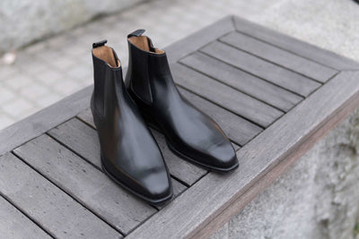 Crockett & Jones Lingfield Chelsea Boots in Black Calf for The Noble Shoe 2