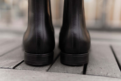 Crockett & Jones Lingfield Chelsea Boots in Black Calf for The Noble Shoe 5