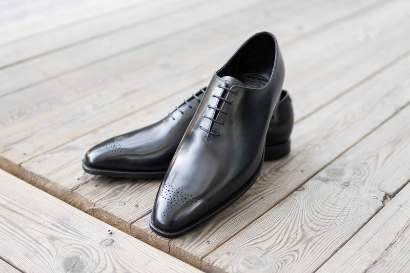 Crockett & Jones Weymouth II Handgrade Wholecut in Black Calf for The Noble Shoe