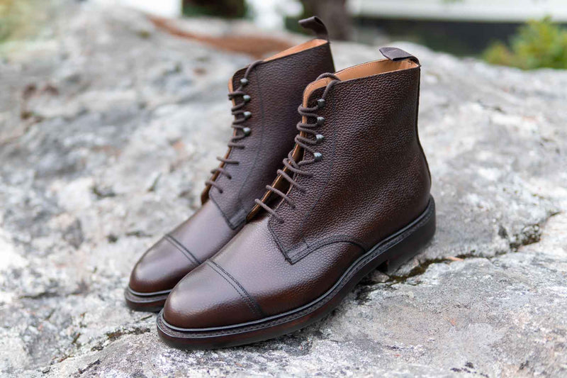 Crockett and Jones Coniston Dark Brown Grain for The Noble Shoe 2
