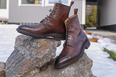 Carlos Santos 8866 Jumper Boot in Coimbra Patina