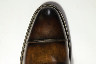 Carlos Santos 8866 Jumper Boot in Coimbra Patina Toes