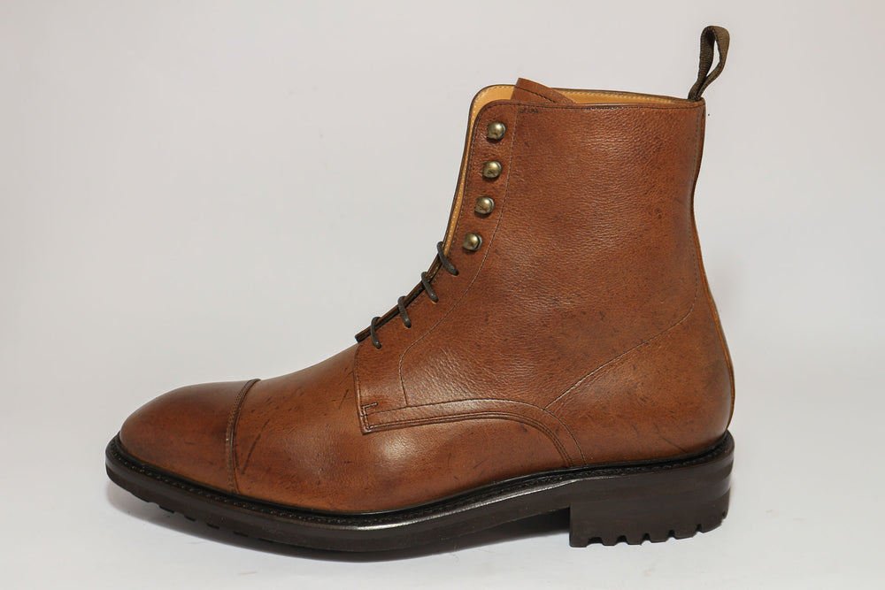 Carlos Santos 8866 Jumper Boot in soft Brown Kudu Left View
