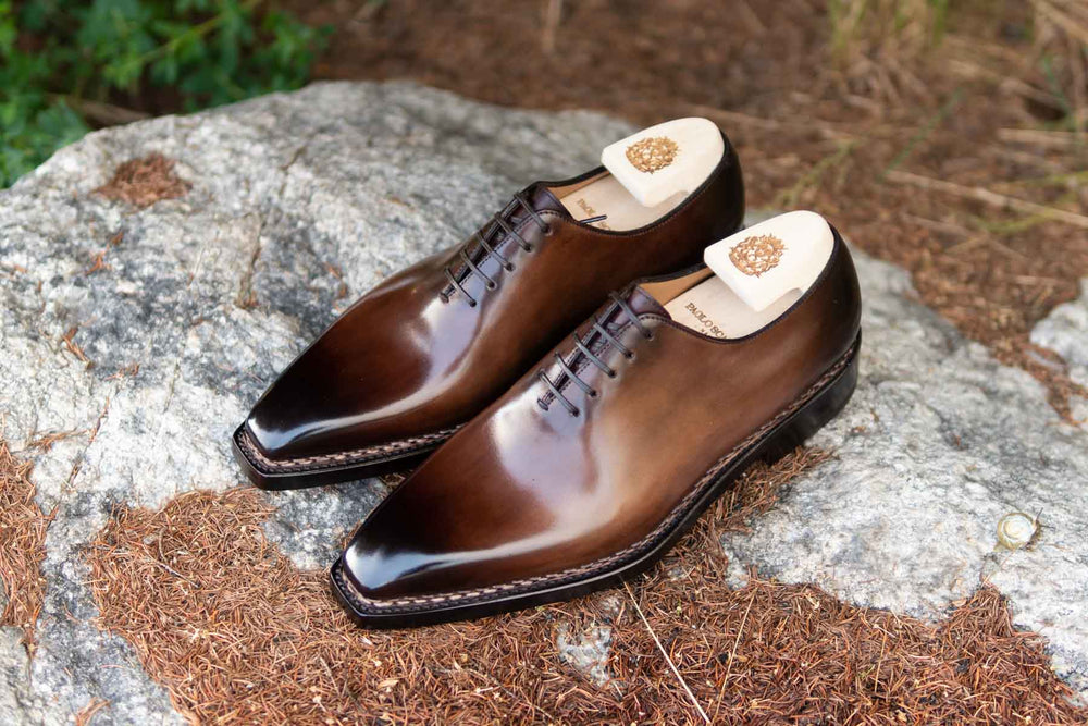 Paolo Scafora 17-5B Wholecut Oxford in Montella Calf for The Noble Shoe 1