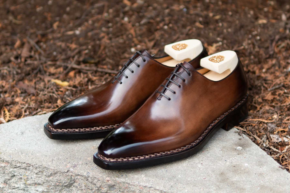 Paolo Scafora 17-5B Wholecut Oxford in Montella Calf for The Noble Shoe 7
