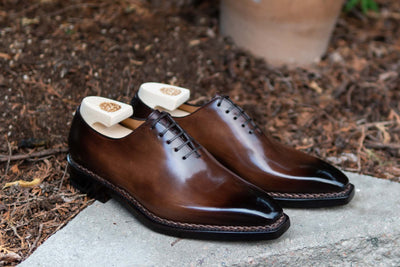 Paolo Scafora 17-5B Wholecut Oxford in Montella Calf for The Noble Shoe 2