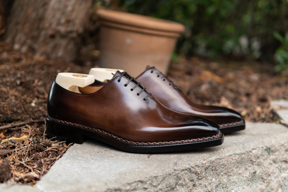 Paolo Scafora 17-5B Wholecut Oxford in Montella Calf for The Noble Shoe 3