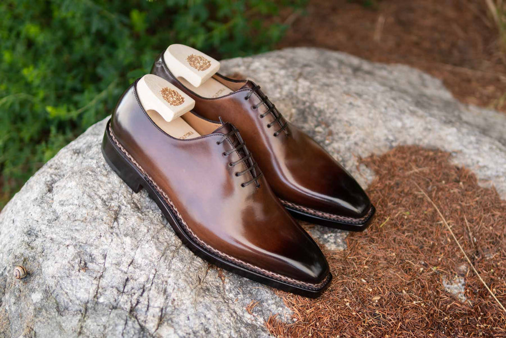Paolo Scafora 17-5B Wholecut Oxford in Montella Calf for The Noble Shoe 6