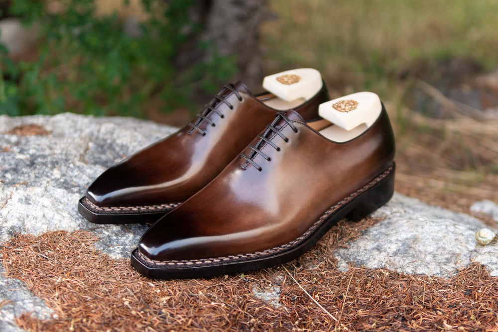 Paolo Scafora 17-5B Wholecut Oxford in Montella Calf for The Noble Shoe 8