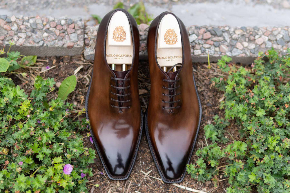 Paolo Scafora 17-5B Wholecut Oxford in Montella Calf for The Noble Shoe 5