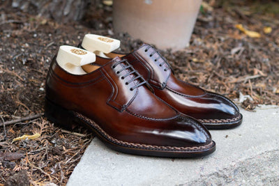 Paolo Scafora 583 Split Toe Derby in Positano Calf for The Noble Shoe  5
