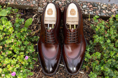 Paolo Scafora 583 Split Toe Derby in Positano Calf for The Noble Shoe 11