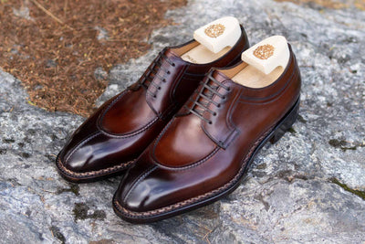 Paolo Scafora 583 Split Toe Derby in Positano Calf for The Noble Shoe  2