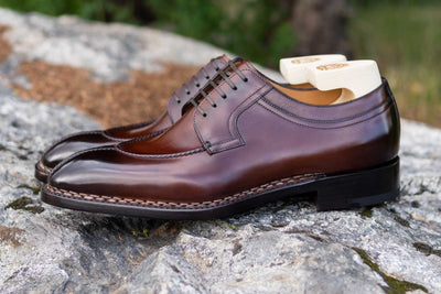 Paolo Scafora 583 Split Toe Derby in Positano Calf for The Noble Shoe 7