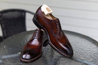 Paolo Scafora 583 Split Toe Derby in Positano Calf for The Noble Shoe 10