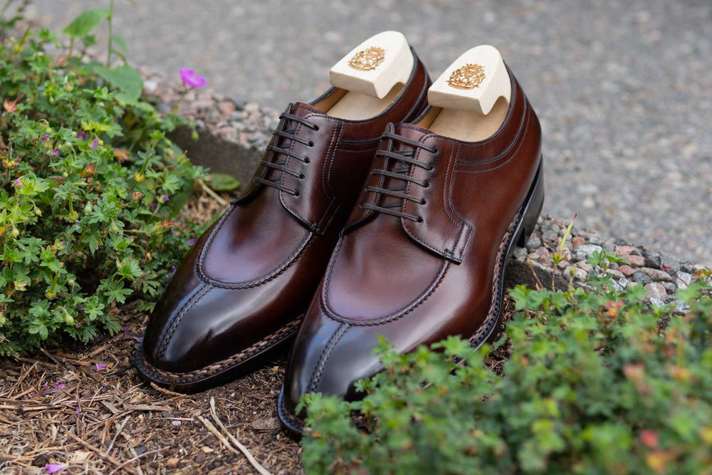 Paolo Scafora 583 Split Toe Derby in Positano Calf for The Noble Shoe 6