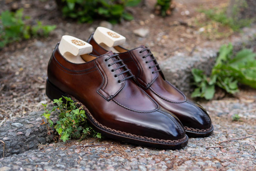 Paolo Scafora 583 Split Toe Derby in Positano Calf for The Noble Shoe  1