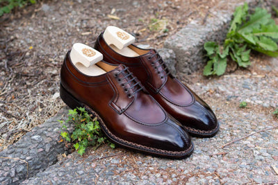 Paolo Scafora 583 Split Toe Derby in Positano Calf for The Noble Shoe 8