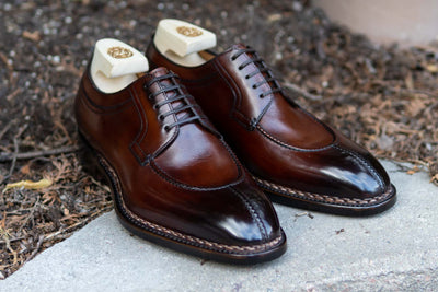 Paolo Scafora 583 Split Toe Derby in Positano Calf for The Noble Shoe 9