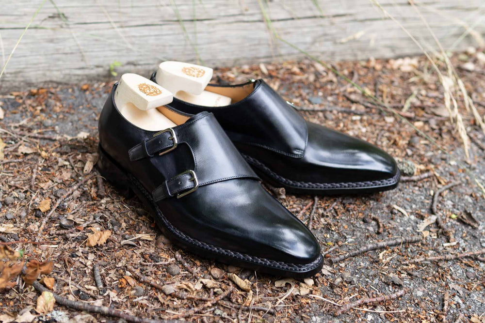Paolo Scafora 650 Double Monk Strap in Furore for The Noble Shoe 14