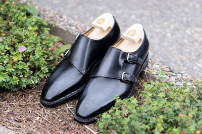 Paolo Scafora 650 Double Monk Strap in Furore for The Noble Shoe 5