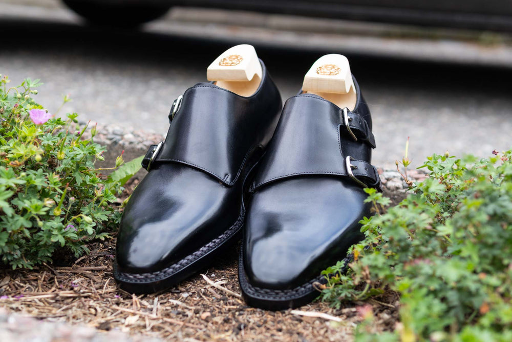 Paolo Scafora 650 Double Monk Strap in Furore for The Noble Shoe 4