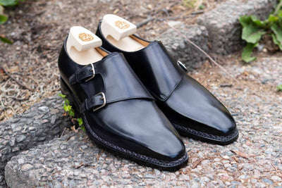 Paolo Scafora 650 Double Monk Strap in Furore for The Noble Shoe 1