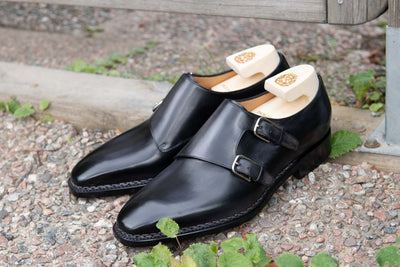 Paolo Scafora 650 Double Monk Strap in Furore for The Noble Shoe 2