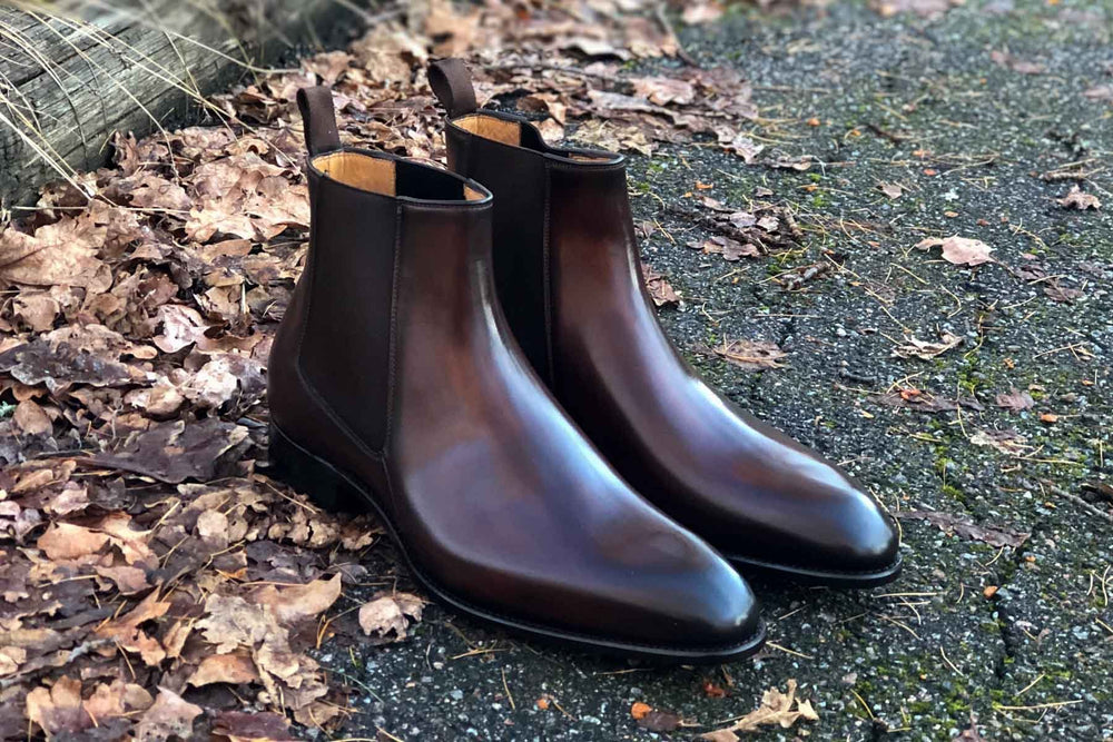 Carlos Santos 7902 Chelsea Boots in Guimaraes Patina for The Noble Shoe 3