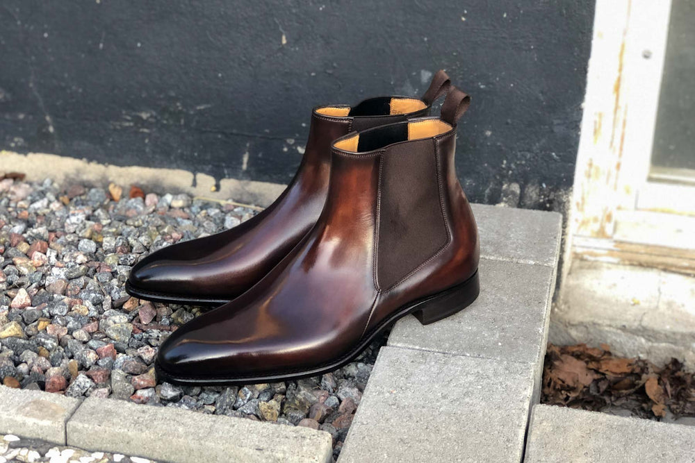 Carlos Santos 7902 Chelsea Boots in Guimaraes Patina for The Noble Shoe 2