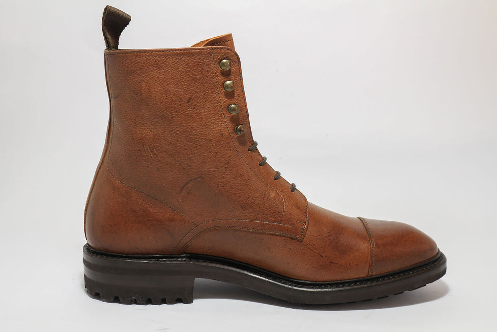 Carlos Santos 8866 Jumper Boot in soft Brown Kudu Right View