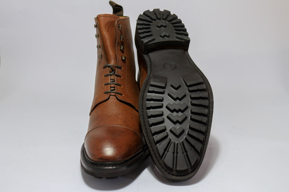 Carlos Santos 8866 Jumper Boot in soft Brown Kudu Sole and Front