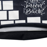 14 Panel I Love You To The Moon And Back Sublimation Pillow