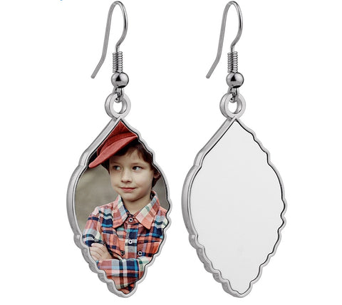 Mother's Day Sublimation Earrings