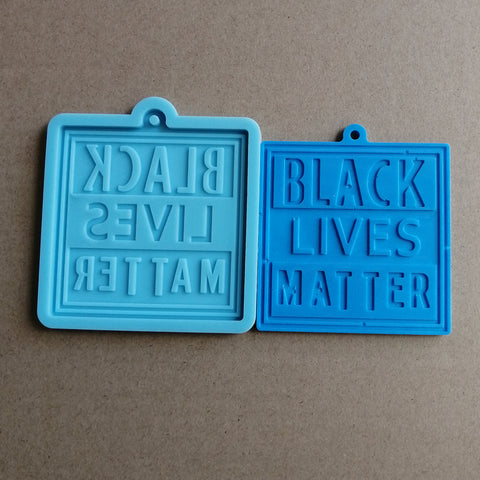 Black Lives Matter Silicone Mold