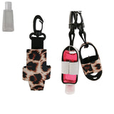 Sublimation Neoprene Hand Sanitizer Holder Keychain Style #2