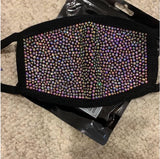 Rhinestone/Bling Face Mask **Wholesale Price** ( 8 for ONLY $96)- PREORDER
