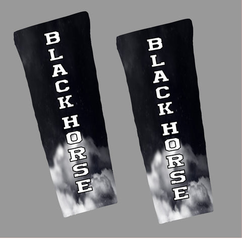 Black Horse Compression Arm Sleeve