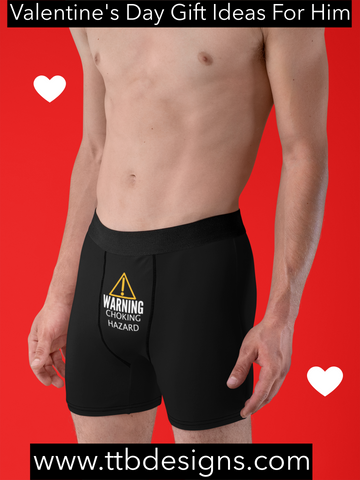 Naughty Valentine's Day Boxer Briefs, Gift Ideas For Him