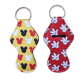 Sublimation Neoprene Chapstick Keychain
