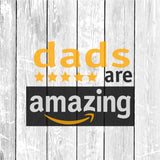 Dads Are Amazing SVG