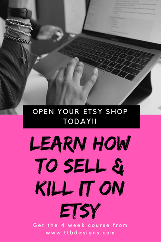 Etsy Bootcamp: Learn How To Sell And Kill It On Etsy- Ebook