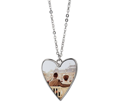 Heart Necklace for Sublimation