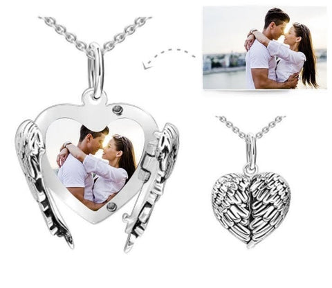 Angel Wing Sublimation Locket