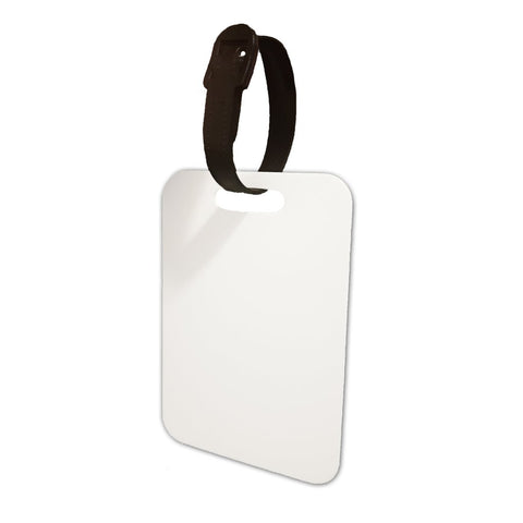 Double Sided MDF Luggage Tags For Sublimation